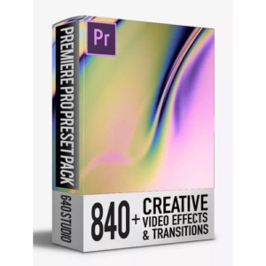 640 Studio 840 Transitions Pack For Premiere Pro